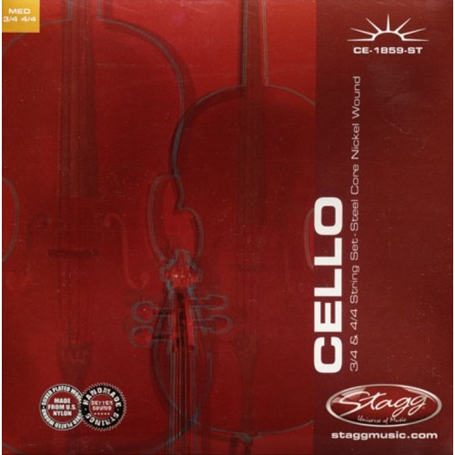 Stagg CE-1859-ST stygos violončelei