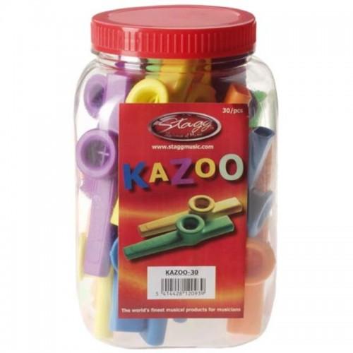 Stagg plastikinis kazoo, oranžinis (1vnt.)