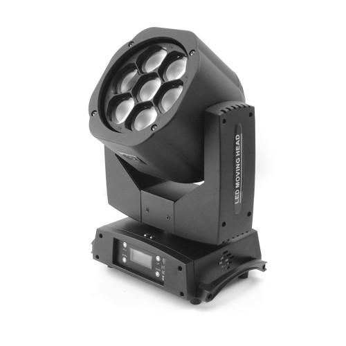 Flash LED BIG-EYE KALEIDOSCOPE Moving Head 7x15W Osram judanti galva