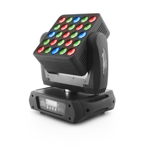 Flash LED MATRIX 25x12 4in1 RGBW pan/tilt no limit judanti galva