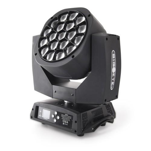 Flash LED BIG-EYE KALEIDOSCOPE 19x15W Osram V2 judanti galva