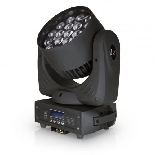 Flash LED WASH 19x15W RGBW 4w1 ZOOM Osram MK2 judanti galva