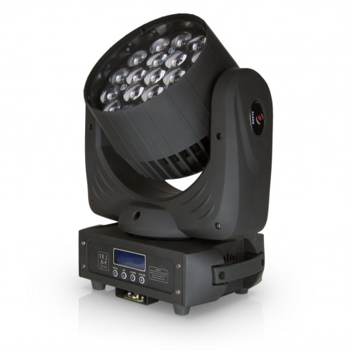 Flash LED WASH 19x15W RGBW 4w1 ZOOM Osram judanti galva