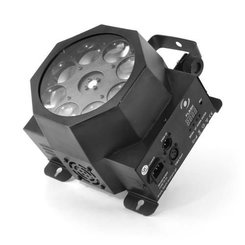 Flash magnum 8x3W SPOT GOBO šviesos efektas