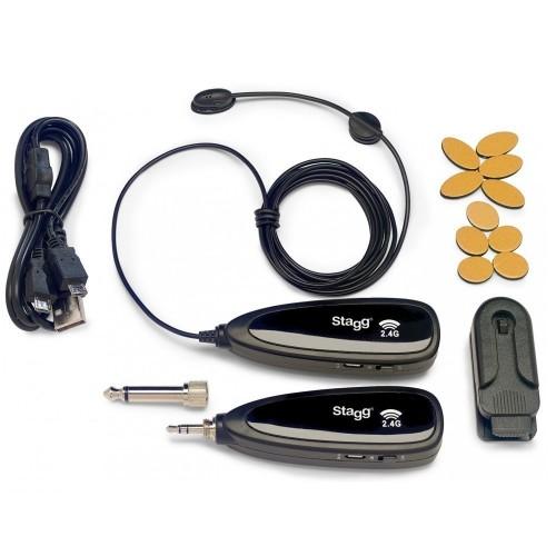 Stagg SUW 10BC bevielis paviršiaus mikrofonas