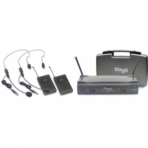 Stagg SUW 50 HH FH EU prisegamų bevielių mikrofonų sistema