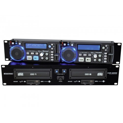 OMNITRONIC XDP-2800 Dual CD/MP3 grotuvas