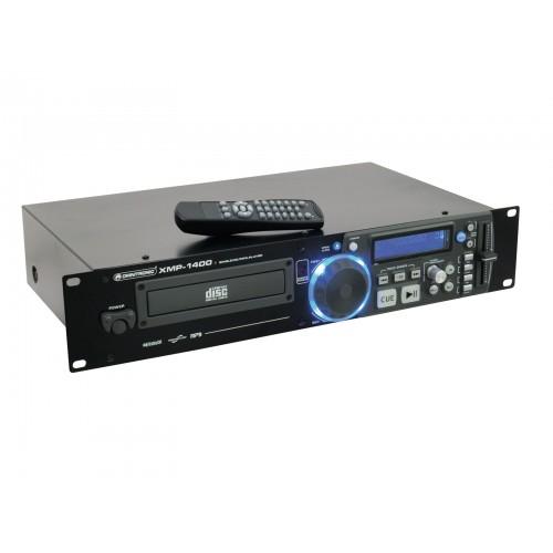 OMNITRONIC XMP-1400 CD/MP3 grotuvas