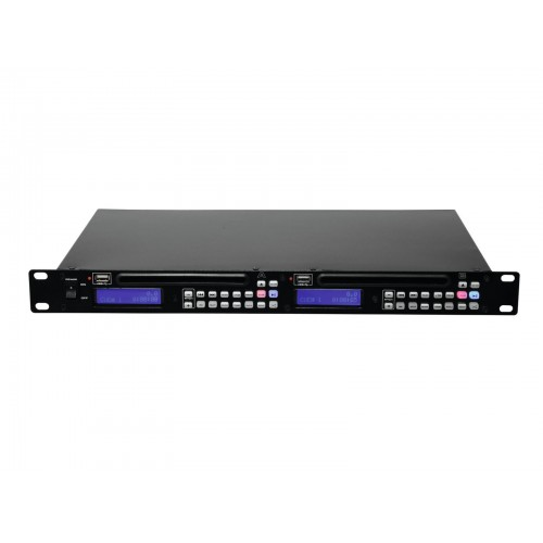 OMNITRONIC DMP-202 Dual USB/CD grotuvas
