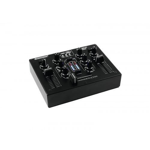 OMNITRONIC PM-211P DJ mikšerinis pultas su grotuvu
