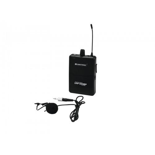 OMNITRONIC UHF-100 BP 863.8MHz mikrofonas