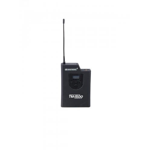 OMNITRONIC TM-1500 Pocket siųstuvas