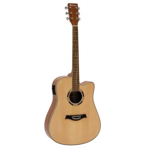 DIMAVERY JK-500 N elektro akustinė gitara