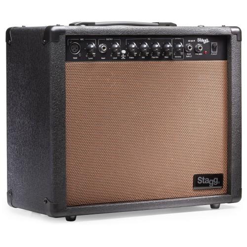 Stagg 40 AA R EU stiprintuvas akustinei gitarai