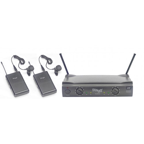 Stagg SUW 50 LL FH EU bevielių prisegamų mikrofonų sistema