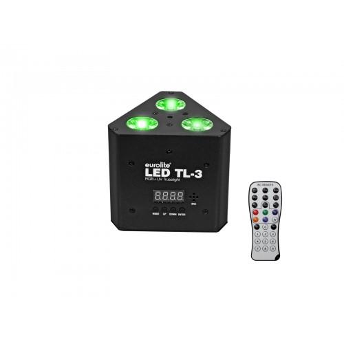 EUROLITE LED TL-3 RGB+UV Trusslight prožektorius