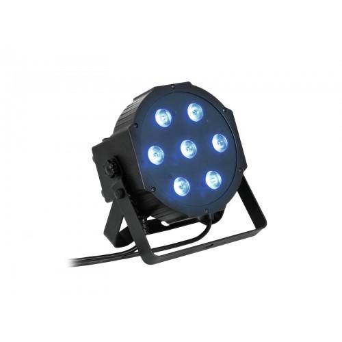 EUROLITE LED SLS-7 QCL 7x10W Floor prožektorius