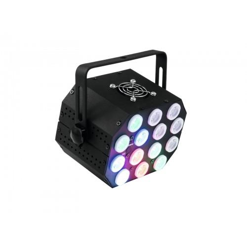 EUROLITE LED PS-46 RGB 14x1W Flash Spot šviesos efektas