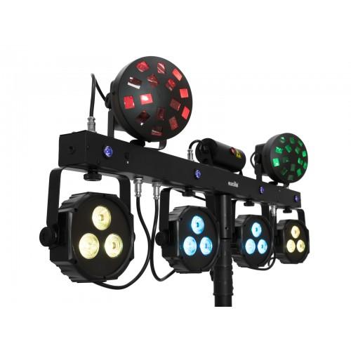 EUROLITE LED KLS Laser Bar Next FX šviesos efektų rinkinys
