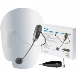 Belaidžių ant galvos dedamų mikrofonų sistemos